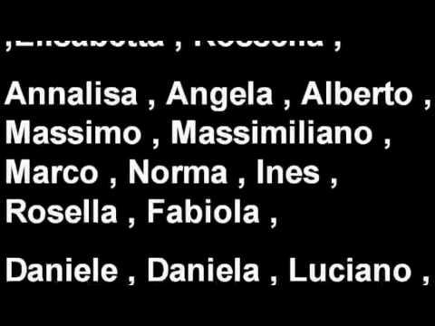 Male Italian Names 21
