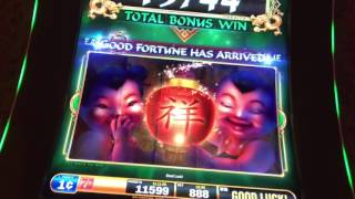 Fu Dao Le - max bet - great bonuses.