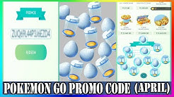 Pokemon Go Promo Code 2020 April