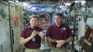 Space Station Crew Members Discuss Life in Space with California Students