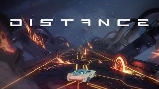 Distance - Mezcla de Trackmania y Tron | Gameplay Español |