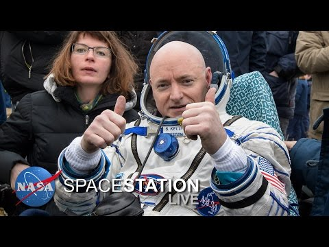 Space Station Live: Balancing a Year in Space