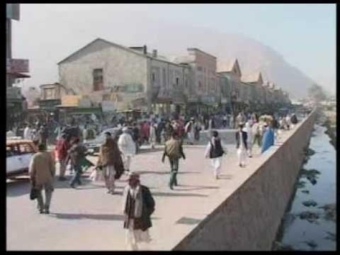Kabul daily life scene