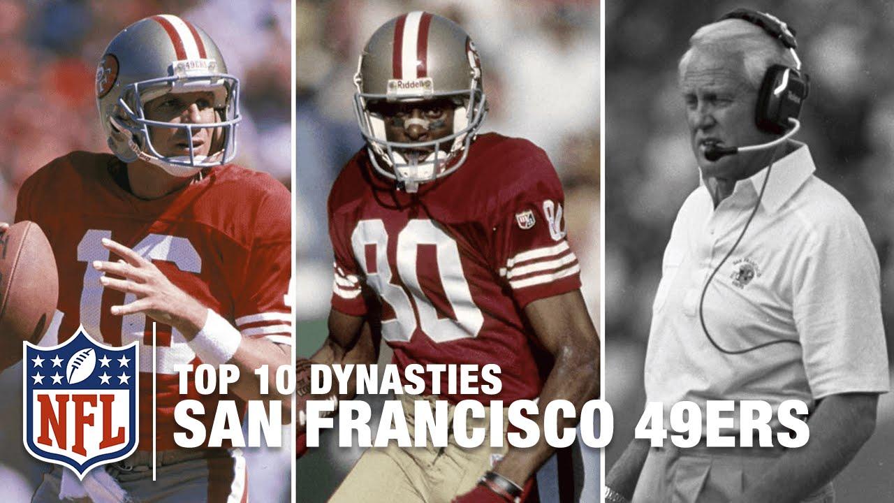 5b8ecc6b NFL Top 10 Dynasties: '80s San Francisco 49ers