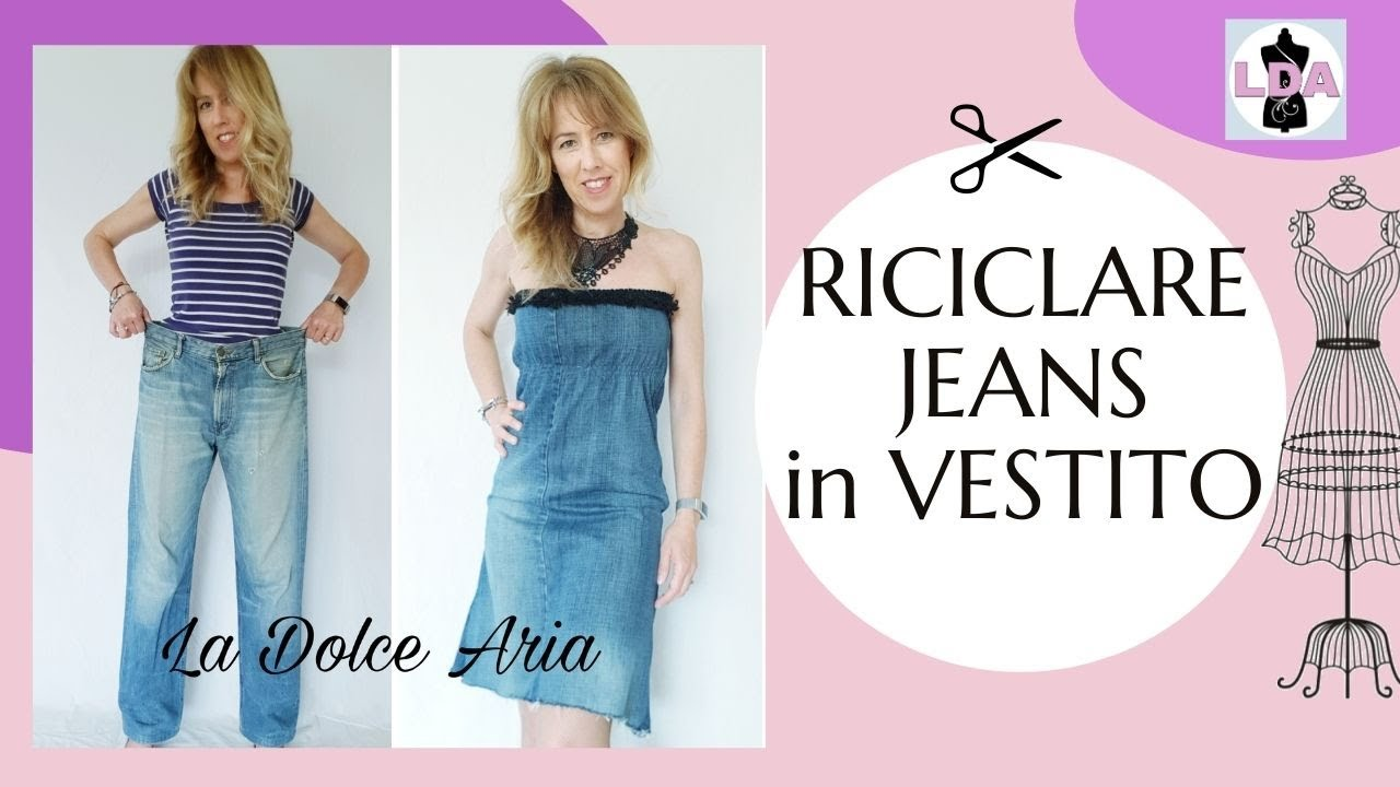 Trasforma Jeans Diy Dress