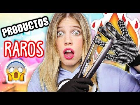 PROBANDO PRODUCTOS RAROS DE INTERNET (A PRUEBA!!) | Laia Oli