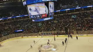 Jets vs. Blackhawks 3/15/18 Kyle Connor scores