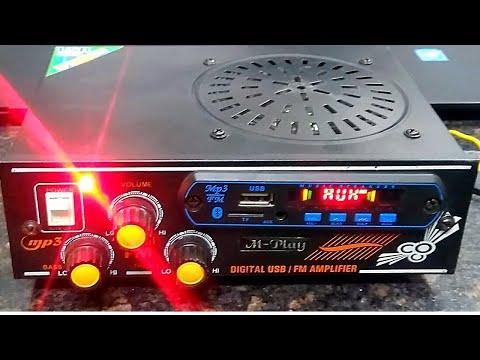 Mini Digital Amplifier Usb Mmc Fm  Ac Dc Unboxing Tamil Review