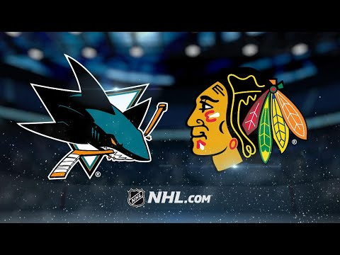 Berube, Schmaltz lead Blackhawks past Sharks, 3-1