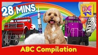Learn English with Lizzy the Dog | ABC Learning Compilation for Children thumbnail
