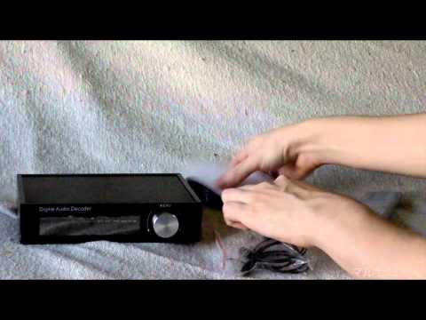 HDV-18A 5.1 CH Dolby Digital DTS AC3 Sound Audio Decoder Unboxing