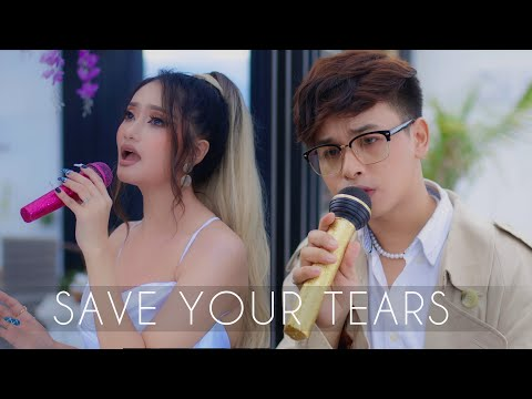 Download SAVE YOUR TEARS (Weeknd & Ariana Grande) - Cover by KISHORE x @Soma Laishram