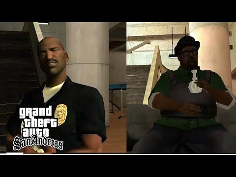 Big smoke & officer Tenpenny : Final Bossfight & ending - Gta San Andreas