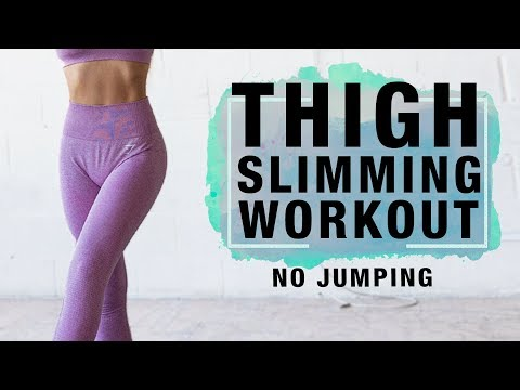 Thigh Workout for Losing Fat | Slim Inner Thigh Workout (No Jumping)