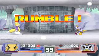 Digimon Rumble Arena | PSX | Gameplay | Español