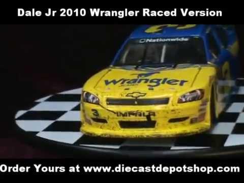 Dale earnhardt jr wrangler 3 raced version diecast - Diecastdepotshop ...