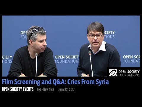 A Conversation on the Syrian Conflict with Cries from Syria Director Evgeny Afineevsky