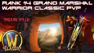 Rank 14 Arms Warrior PvP Classic/Vanilla WoW (Warcrimes) Elysium Light's Hope Nostalrius