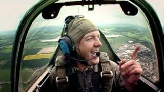 Top Gear -  Arriving in style - Spitfires!