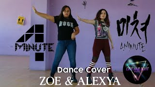[ DANCE COVER ] 4MINUTE(포미닛) - CRAZY(미쳐) | Duo Zoe & Ale…