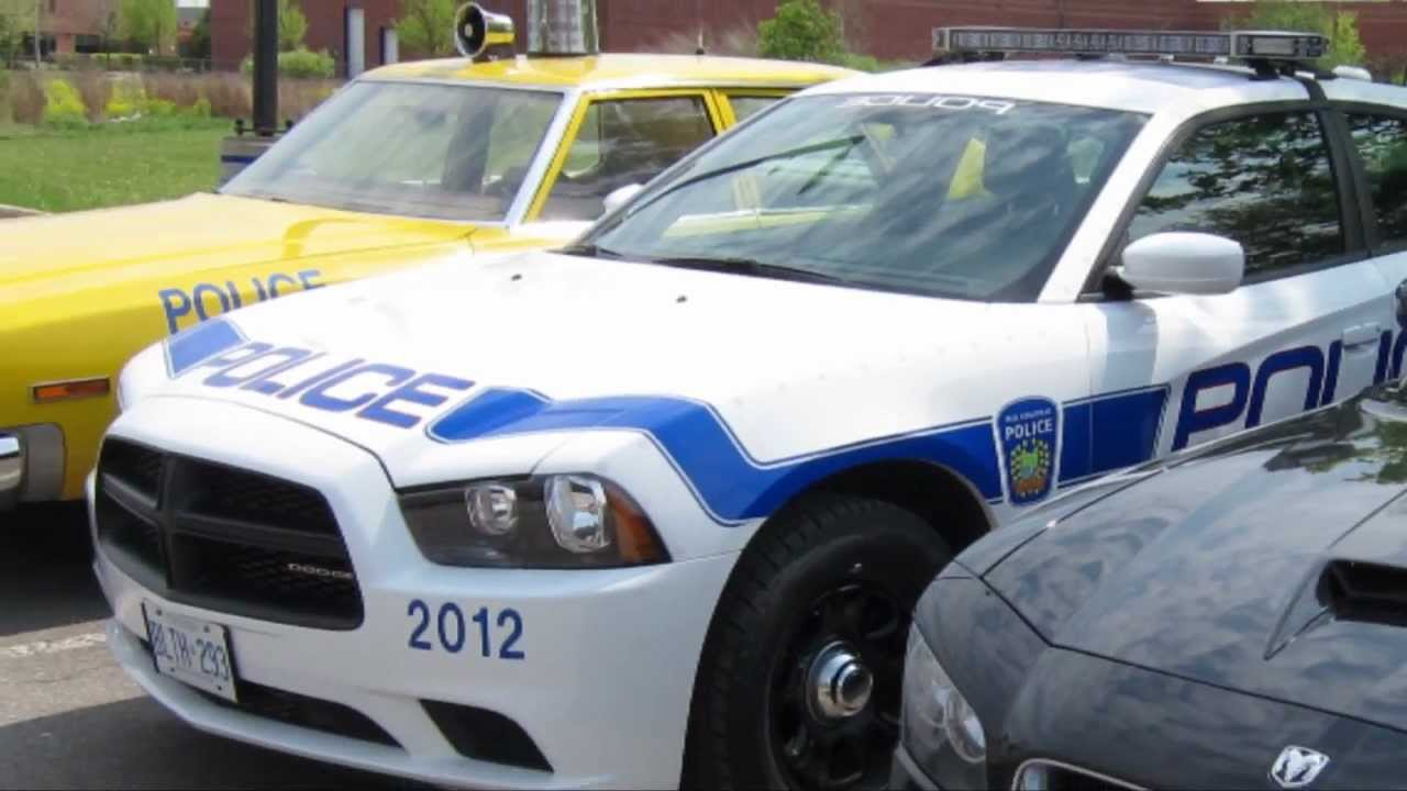 2012 Peel Police Package Dodge Charger And 2006 Black
