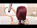 HAIR CARE ROUTINE | COLORED + BLEACHED
