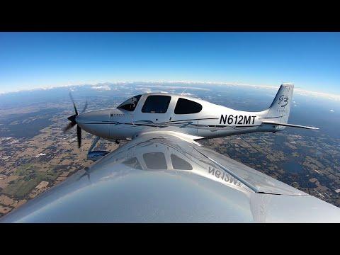First Cirrus SR22 Turbo Flight