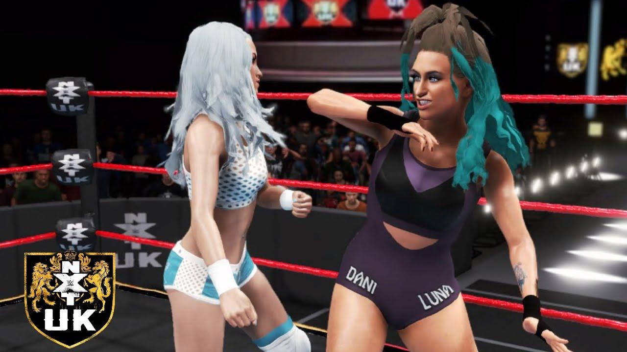 WWE 2K20 NXT UK DANI LUNA VS XIA BROOKSIDE