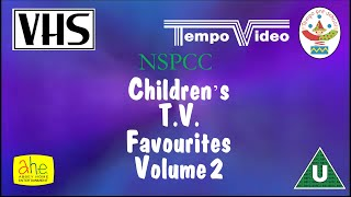 Closing to NSPCC Children's TV Favourites UK VHS (1993)