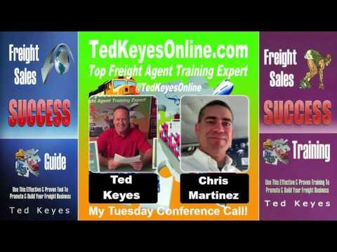[TKO] ♦ Freight Carrier Expert Guest - CHRIS MARTINEZ ♦ TedKeyesOnline.com