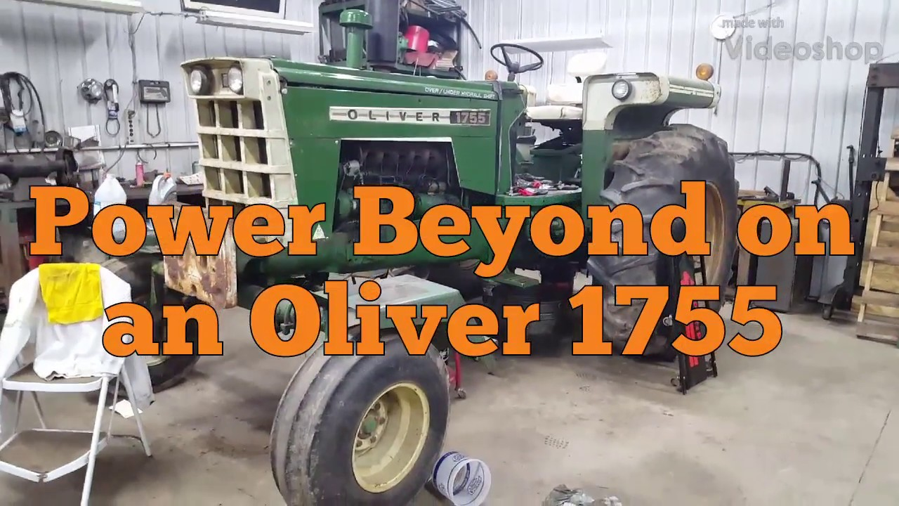 Adding a power beyond hydraulic port to an Oliver 1755