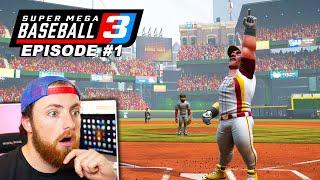 My Favorite Baseball Game Returns! Super Mega Baseball 3 | Gameplay #1
