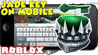 ROBLOX HOW TO GET THE JADE KEY ON MOBILE! LOCATION REVEALED (Ready Player One Event)