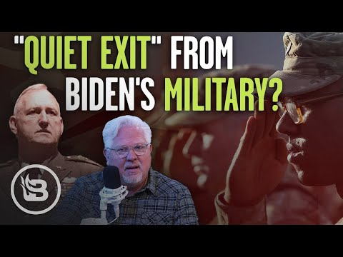 General Predicts 'QUIET EXIT' of Military Dissatisfied With Leftist Politics |The Glenn Beck Program