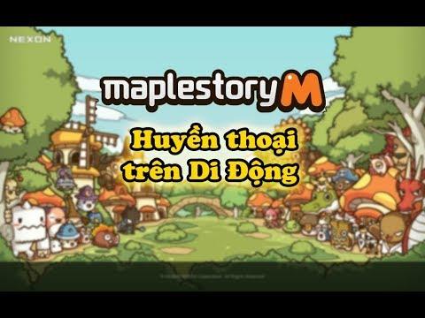 [ Review ]  Maplestory M | Huyền thoại phiêu lưu trở lại trên Điện thoại