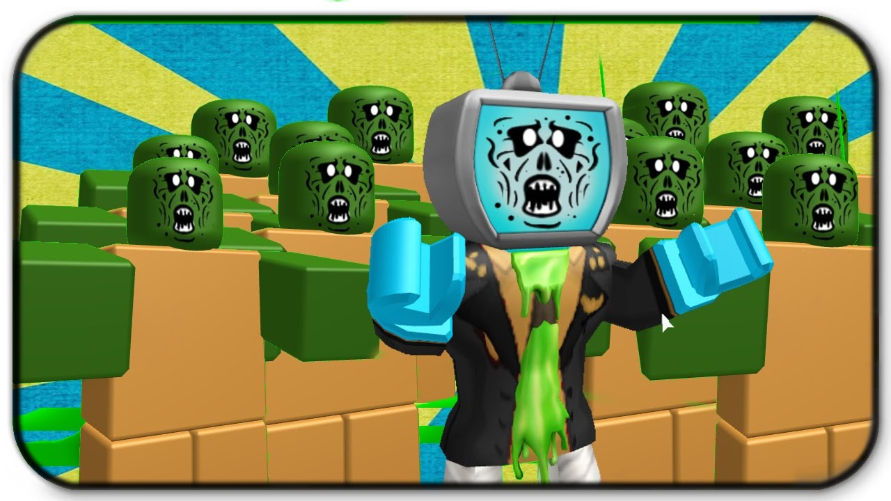 Roblox Zombie Rush - How To Be A Zombie - YouTube