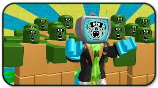 Roblox Zombie Rush - How To Be A Zombie