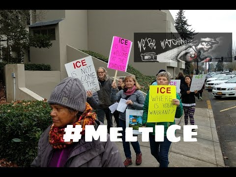 ICE Immigration Protest 12/18/17 #MeltIce Washington County Courthouse