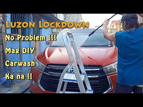 Luzon lockdown_Paano  Magpa - Carwash_DIY na !!!
