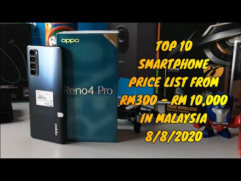 Top 10 Brand Smartphone Price List in Malaysia 8 August 2020