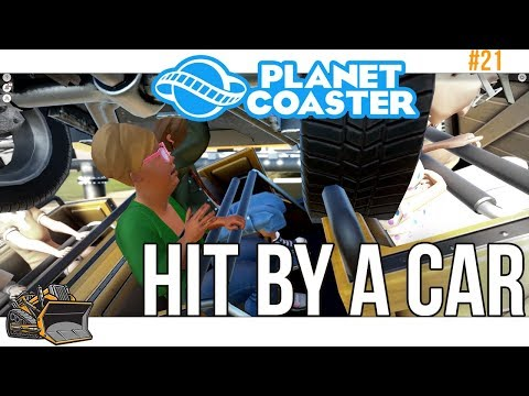 Disaster Coaster in position | Planet Coaster #21
