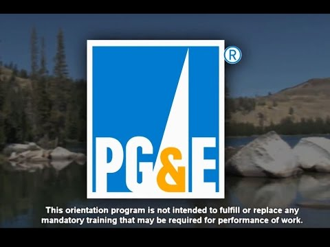 PG&E Hydro- 2016 Safety Orientation Video