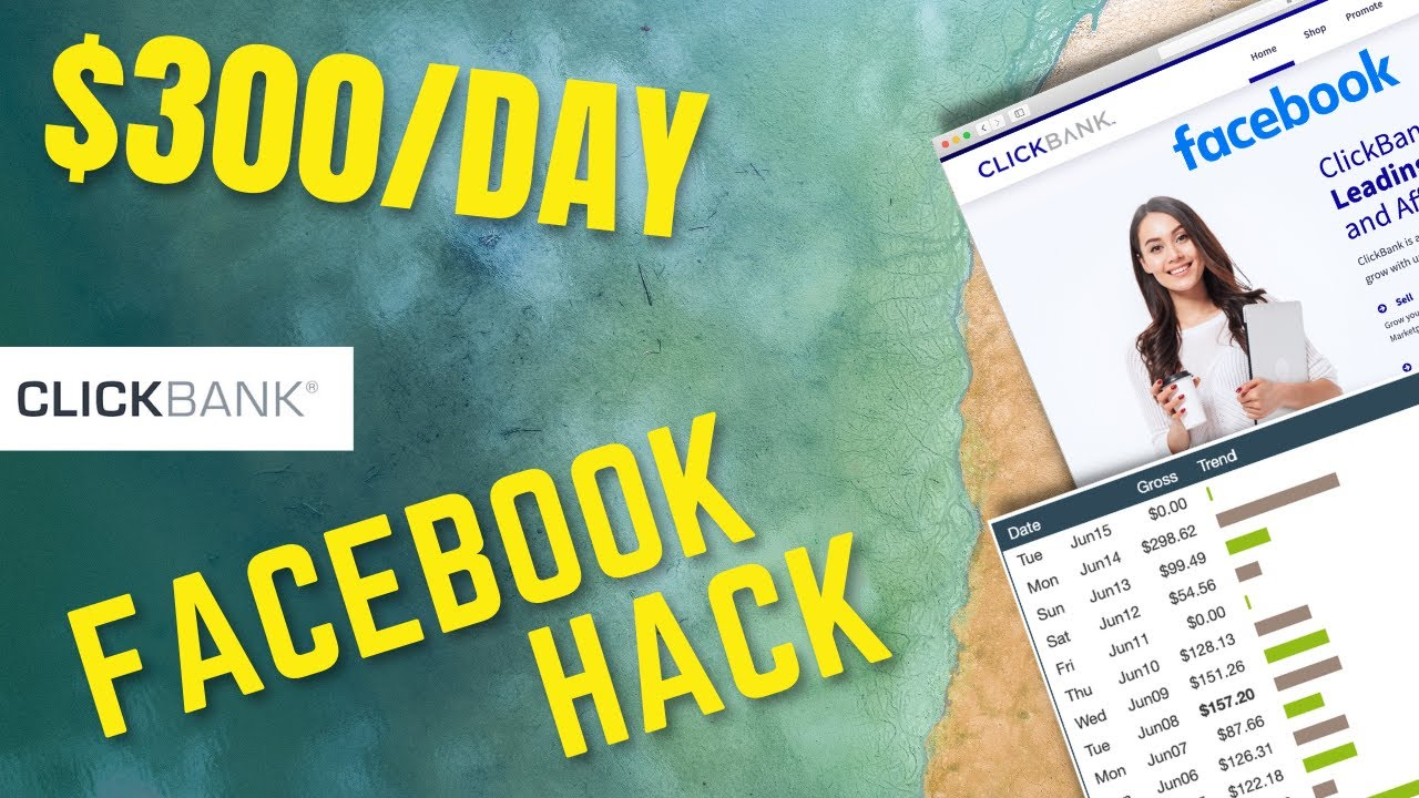 Make Free Money On ClickBank With This Smart Facebook Hack