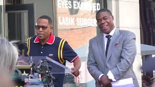 Martin Lawerence at Tracy Morgan Walk of Fame ceremony in Hollywood