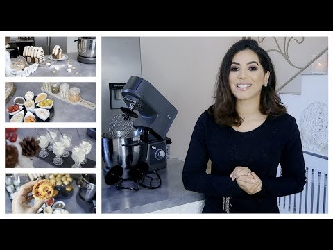 ❅-8-recettes-pour-les-fêtes-❅- -idées-d'apéritifs-&-bûche-chalet-#robotmiogo