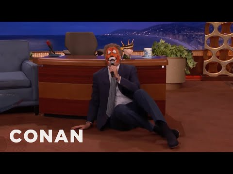 "EXTENDED CUT: Will Ferrell Won't Stop Singing ""Superstar""  - CONAN on TBS"