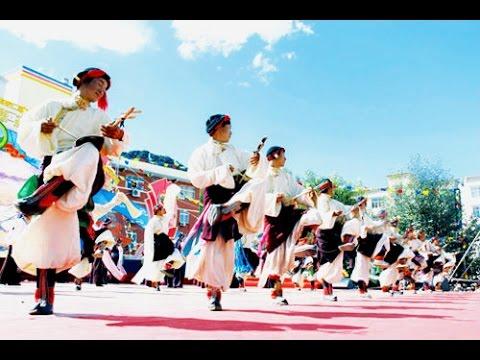 Tibetan circle dance songs 2014  [ full DVD ]