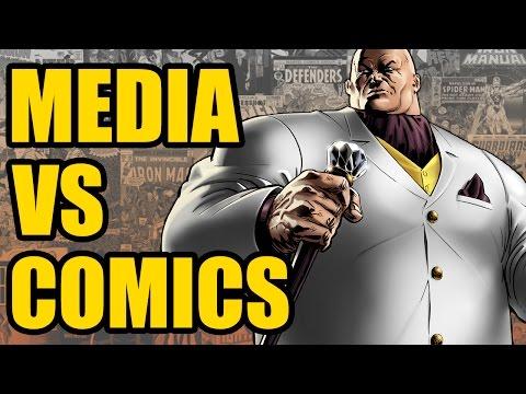 [Spoilers] Media vs Comics: The Kingpin