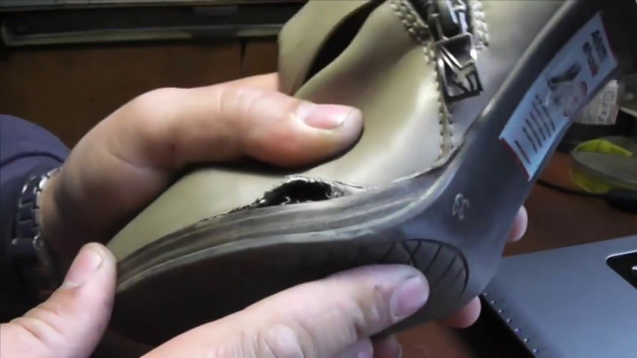 Как починить сапоги своими руками