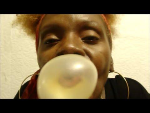 ASMR Chewing Gum Juicy Fruit 💦
